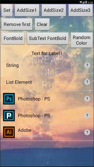 Custom ListView - ColinTreeListView * · Appinventor/Thunkable Extensions